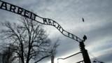 """""""Le travail rend libre"""" volé à Auschwitz"""