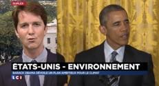 """Contre le rechauffement climatique, Obama """"veut rester dans l'histoire"""""""