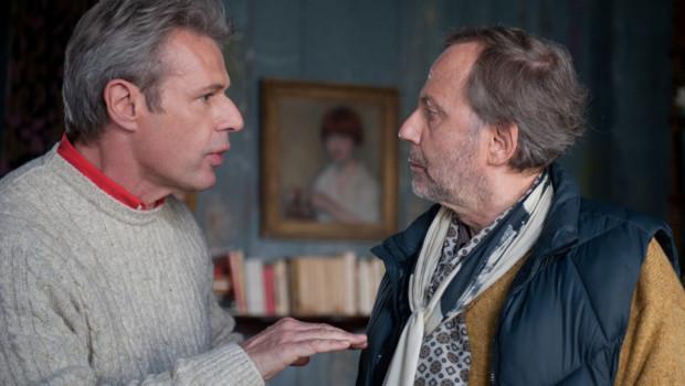 Fabrice Luchini et Lambert Wilson dans le film Alceste à bicyclette de Philippe Le Guay
