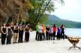 Les 16 aventuriers avant la formation des équipes - Koh-Lanta - La Revanche des Héros