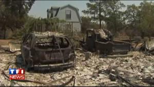 Texas : deux morts et 700 maisons ravagés par les incendies