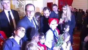 """""""François Hollande, tu peux faire une photo avec ma maman ?"""""""