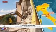 """Séisme en Italie : """"Une dizaine de répliques ressenties par la population"""" selon un sismologue"""