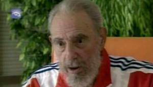 TF1/LCI : Fidel Castro à la télévision cubaine lors d'une interview de près d'une heure (6 juin 2007)