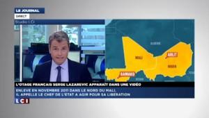 """Vidéo de l'otage français Serge Lazarevic : """"Les jihadistes sont prêts à négocier"""""""