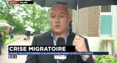 """Calais : """"Cette crise sera longue"""" reconnaît Manuel Valls"""
