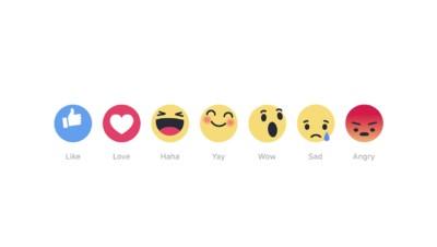 """Commenter """"Haha"""", """"wow"""", """"sad"""", """"angry""""... : ça y est, Facebook teste d'autres boutons que """"like"""""""