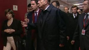 Jacques Chirac au sommet de Bruxelles (LCI/TF1)