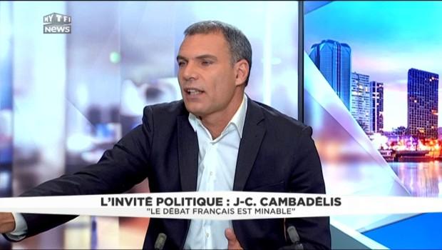 Jean-Christophe Cambadélis est l'invité politique de LCI