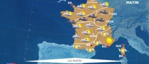 La météo du mardi 26 avril 2016 : un temps frais et capricieux