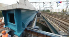 Le 20 heures du 20 août 2014 : Sur le chantier de la ligne H du RER en r�on parisienne - 632.028007080078