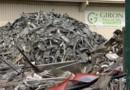 TF1/LCI : tas de cuivre dans l'enceinte de la société de recyclage de métaux de Reims, visée par une attaque commando