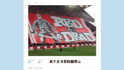 anderlecht Liège foot banderole décapité