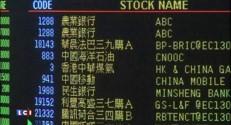 Bourses chinoises : la dégringolade continue, provoquant l'inquiétude des investisseurs