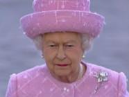 Elizabeth II sur les Champs Elysées le 5 juin 2014.
