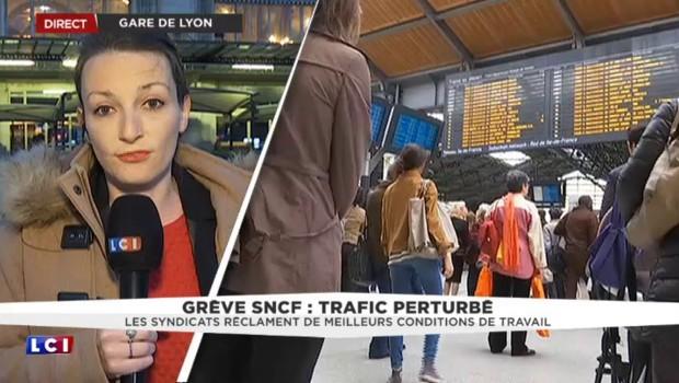 Grève à la SNCF : moins de perturbations que prévues
