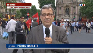 Le 20 heures du 6 juin 2013 : En direct de la place Saint-Michel - 667.96