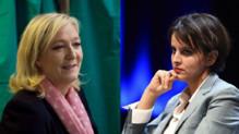 Marine Le Pen et Najat Vallaud-Belkacem