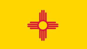 nouveau-mexique drapeau