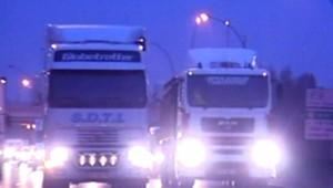 Routiers transporteurs camions nuit otre