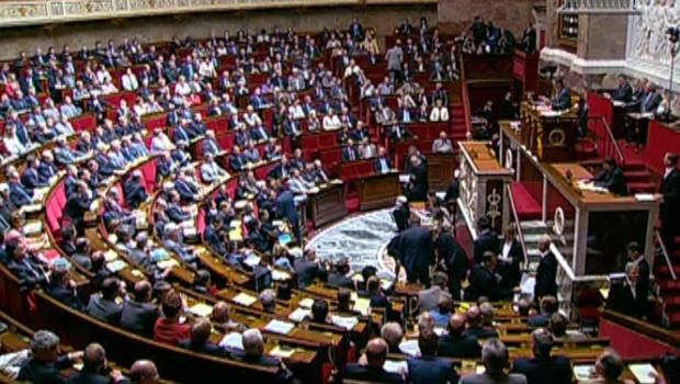 Assemblée nationale hémicycle députés