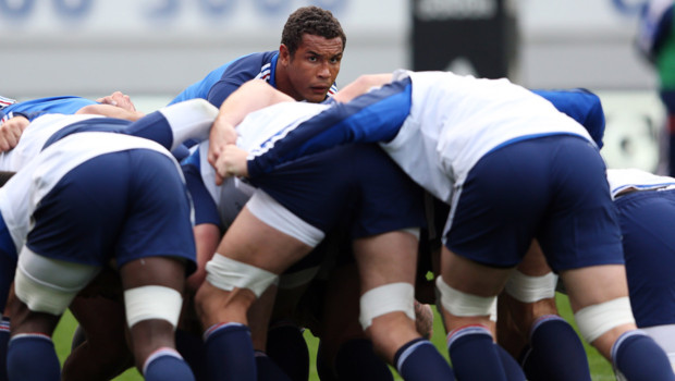dusautoir rugby XV de France All Blacks