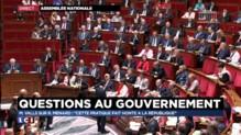 """Fichage des élèves : """"Le gouvernement sera intransigeant, ne laissera rien passer"""", assure Valls"""