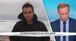 Alerte orange submersion : à Lacanau, un risque de surélévation du niveau de la mer