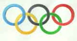 anneaux olympiques jeux sport