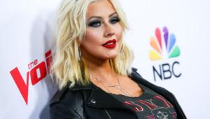 Christina Aguilera Avril 2015
