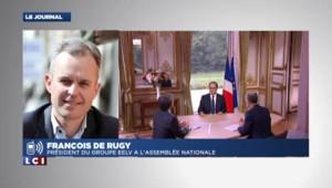 """De Rugy sur Hollande : """"Parler de la vie quotidienne pour 2015, c'est assez flou"""""""