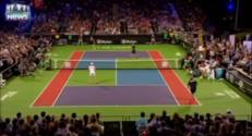 Elton John, nouvelle star du tennis