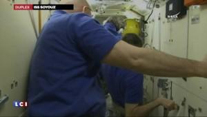 Espace : les images à bord du vaisseau Soyouz