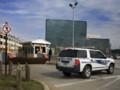 L'entrée du bâtiment de la NSA à Fort Meade (Maryland)