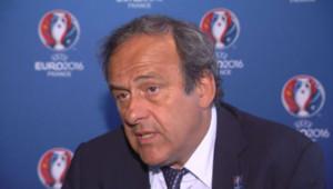 Michel Platini, président de l'UEFA, le 26 juin 2013.