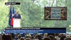 """Pierre Gattaz : """"Chaque cotisation nouvelle sur les entreprises entraînera du chômage"""""""