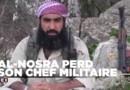 Syrie : le chef militaire d'Al-Nosra tué dans un raid aérien