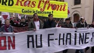 TF1/LCI - Manifestation à Lille contre le Front national, le 24 février 2007