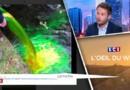 Douze rivières françaises colorées en vert fluo pour alerter sur l'environnement