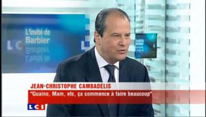 LCI - Jean-Christophe Cambadélis est l'invité politique de Christophe Barbier