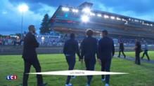 Les Bleus de sortie à l'hippodrome de Vincennes