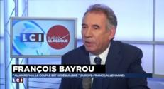 """Pour Bayrou, Hollande est un homme """"jovial"""" mais son bilan est """"désastreux"""""""