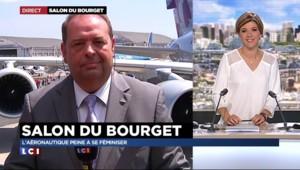 """Salon du Bourget : la formation pour l'avenir, """"une grande histoire"""" chez Airbus"""