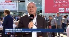 Bruno Le Roux appelle à l'apaisement après les propos d'Emmanuel Macron