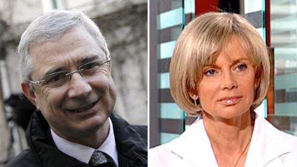 Elisabeth Guigou et Jean-Christophe Cambadélis.