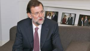 Le premier ministre espagnol, Mariano Rajoy, le 14/11/11