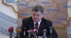 Le président ukrainien Porochenko rend hommage à Boris Nemtsov