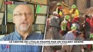 """Séisme en Italie : """"C'est un pays très exposé aux tremblements de terre"""" rappelle un sismologue"""