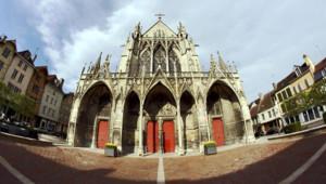 Vue de la basilique Saint-Urbain à Troyes