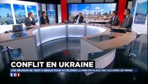 """Accords de Minsk : """"Rétablir le dialogue entre l'Ukraine et la Russie ou utiliser la force"""""""